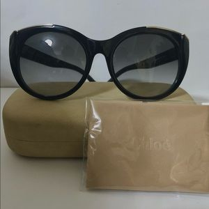 Chloe Dalia' Cat Eye Sunglasses